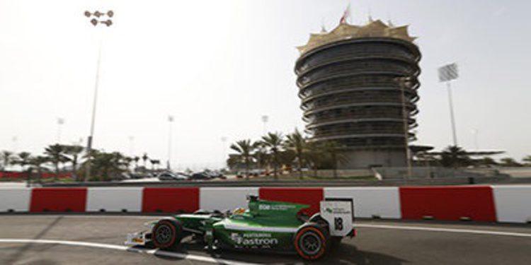 Rio Haryanto lidera el penúltimo día de test GP2 en Baréin