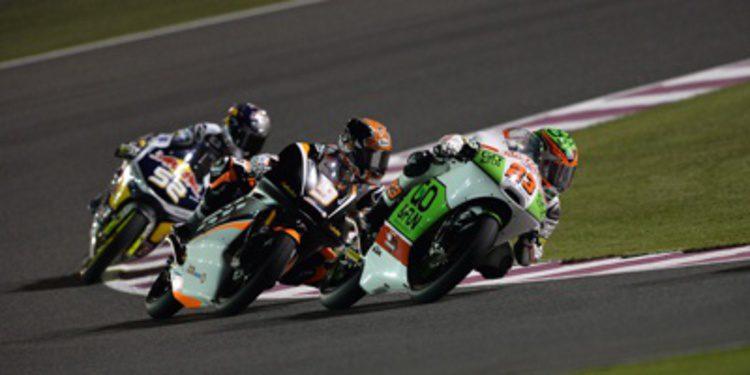 Dunlop también marca sus gomas de Moto2 y Moto3