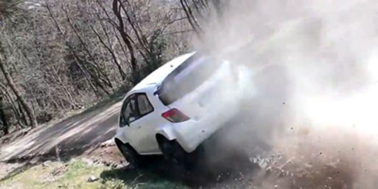 Secretos y curiosidades en el test del Toyota Yaris WRC