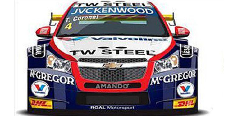 Tom Coronel muestra los colores de su nuevo Chevrolet