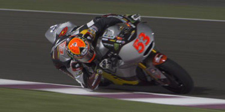 El warm up de Moto2 en Losail es para Tito Rabat