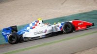Oliver Rowland vuela en el segundo día de test en Jerez