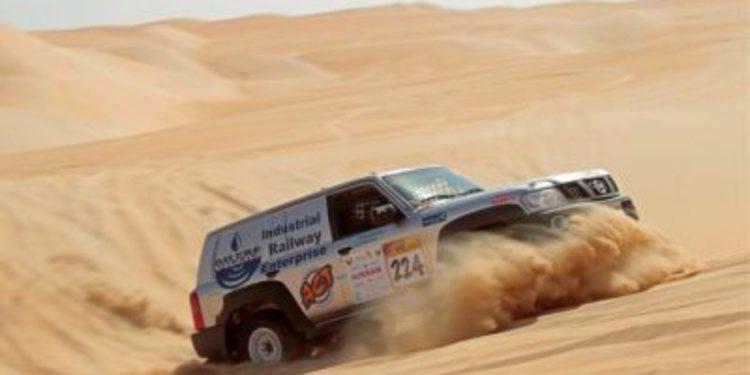 Inscritos en coches en la Abu Dhabi Desert Challenge