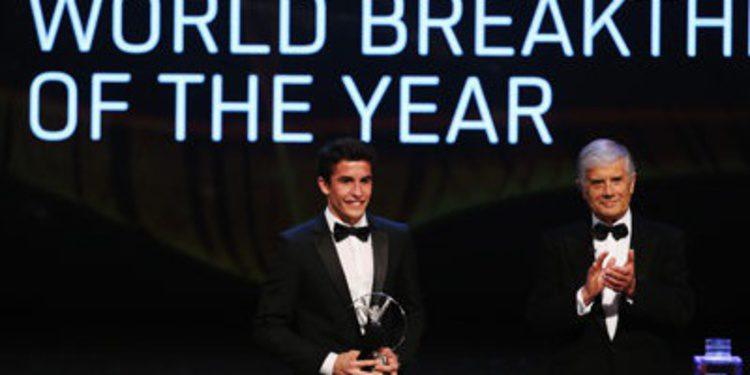 Marc Márquez recibe el Premio Laureus al Deportista Revelación