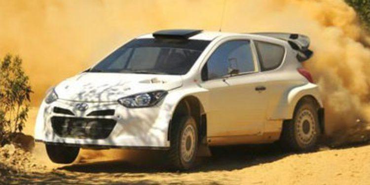 Dani Sordo prepara el Rally de Portugal sobre el i20 WRC