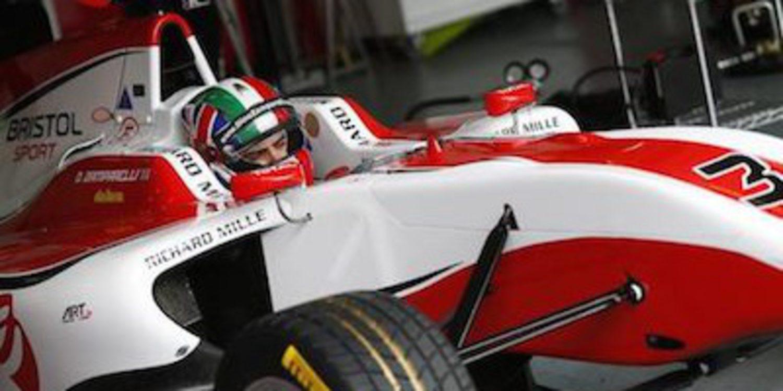Dino Zamparelli manda en el primer día de test de GP3 en Estoril