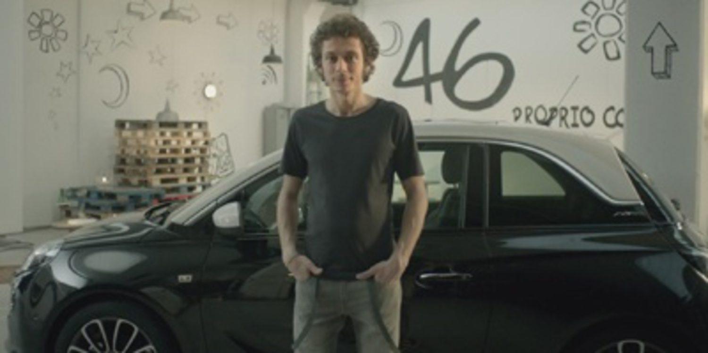 Opel Adam VR 46, relación de grandes estrellas