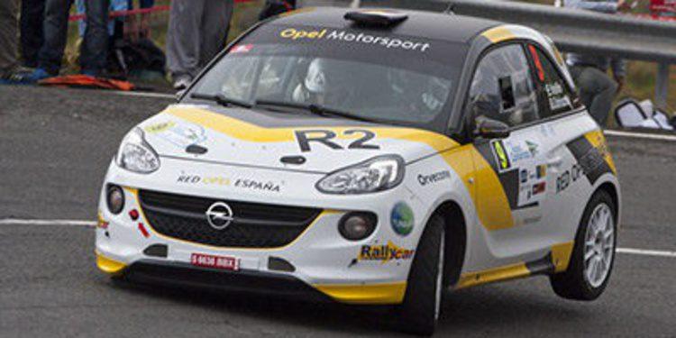Copas y Trofeos en el Rally de Canarias