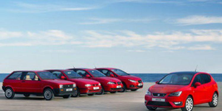 Celebramos el treinta aniversario del Seat Ibiza