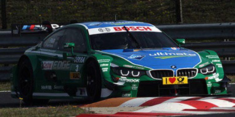 Nico Muller domina el segundo día de test en Budapest