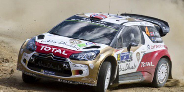 Citroën quiere podio en el Rally de Portugal