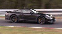 Cazada supuesta mula del Porsche 911 con 4 cilindros