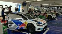 Jari-Matti Latvala al frente del shakedown del Rally de Portugal