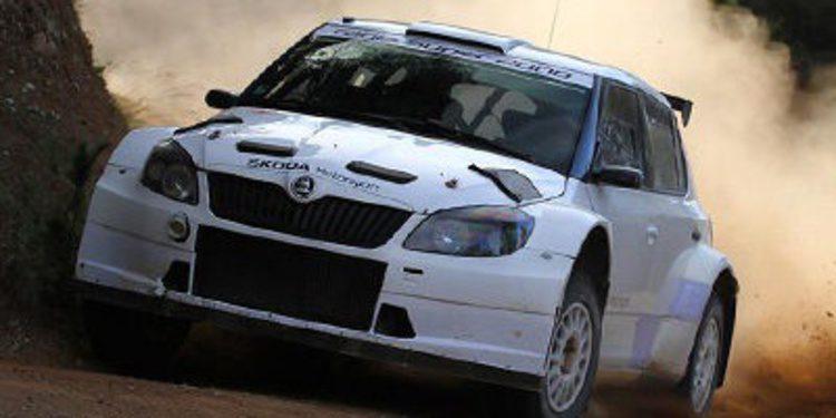 Skoda prueba su Fabia R5 tras el Acrópolis Rally
