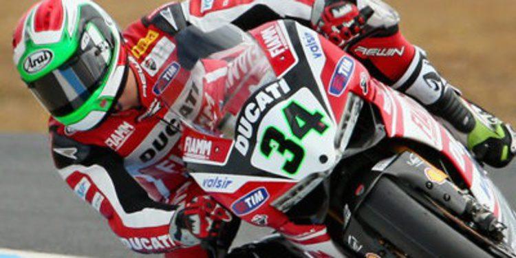 Giugliano y Ducati mandan en el test WSBK de Jerez