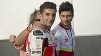 Andrea Iannone se ve en la lucha de cabeza en MotoGP