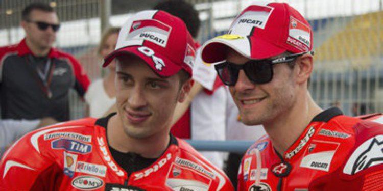 Petrucci y Ducati coinciden en el test privado de Jerez