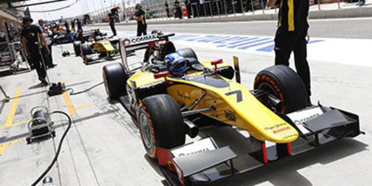 Jolyon Palmer se lleva la pole de GP2 y los primeros puntos