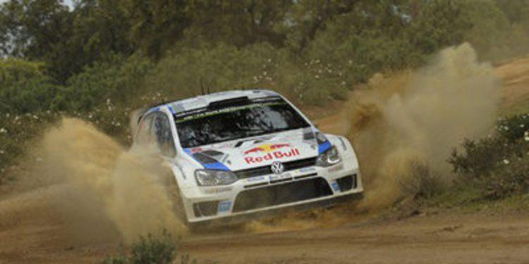 Sebastien Ogier lanza su órdago en el Rally de Portugal