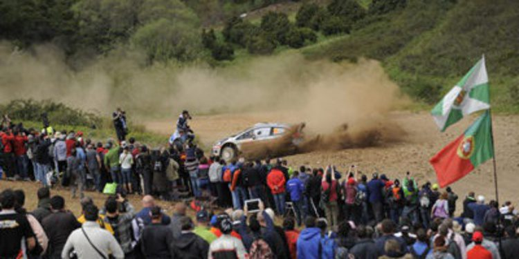 Directo Rally de Portugal del WRC 2014 - Cuarto bucle