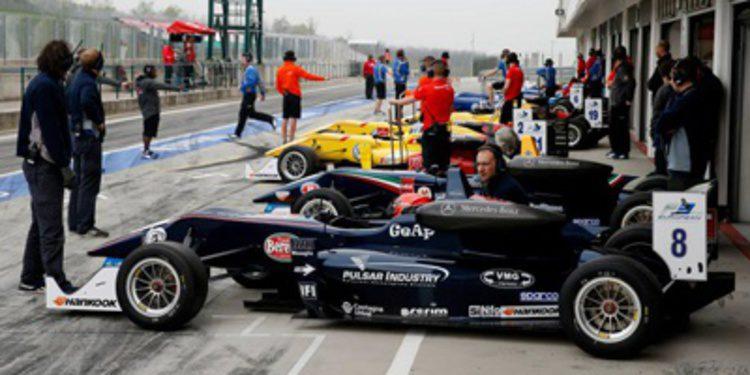 Primeros test oficiales del FIA F3 European en 2014