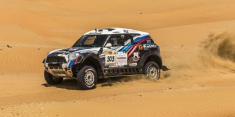 Coma y Vasilyev ganan la etapa 2 del Abu Dhabi Desert Challenge