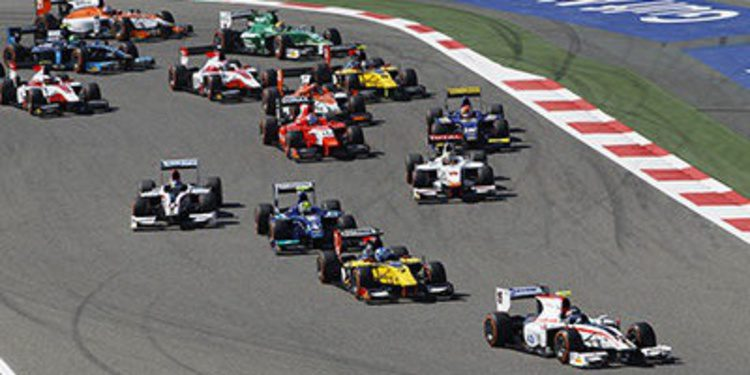 Jolyon Palmer gana en Baréin y se pone líder de la GP2