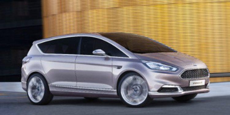 Ford presenta el S-Max concept Vignale