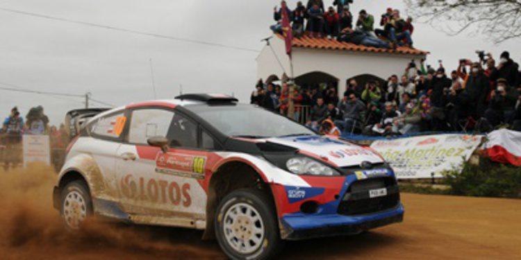 Robert Kubica vuelve a sufrir en el Rally de Portugal