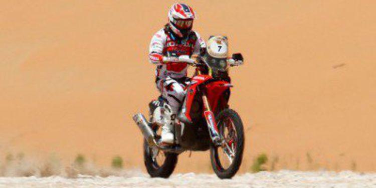 Barreda y Vasilyev ganan la etapa 3 del Abu Dhabi Desert Challenge