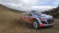 Dani Sordo en el Rally de Argentina con el segundo Hyundai i20 WRC