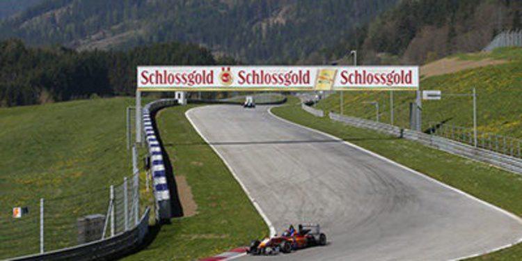 Félix Serralles arranca con récord el test de F3 en Austria