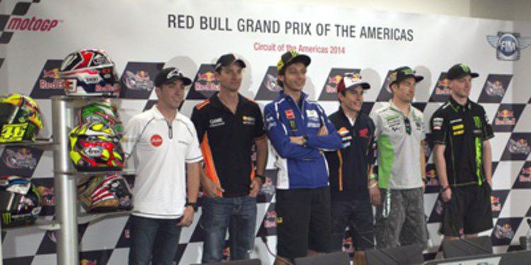 Rueda de prensa oficial del GP Américas de MotoGP 2014