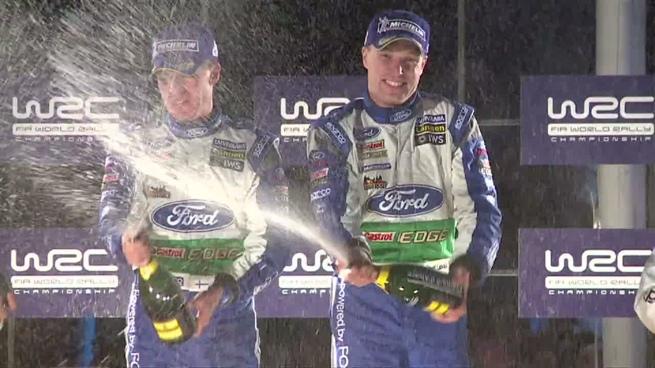 Ford resume su primera mitad de temporada en el WRC
