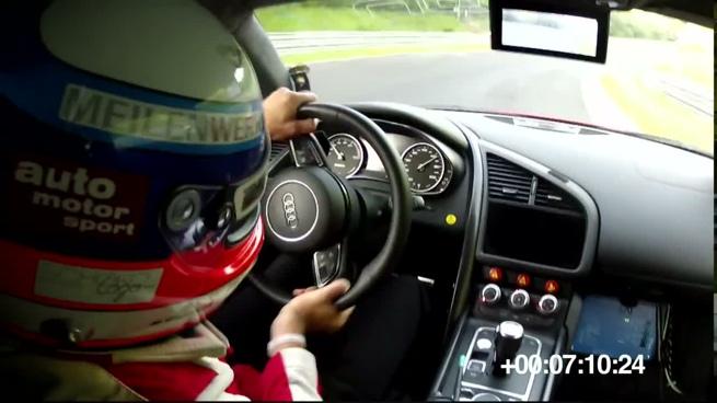 Audi R8 E-Tron bate un récord en Nürburgring