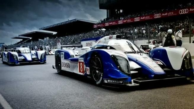 Toyota en las 24 horas de Le Mans 2012, vídeo oficial