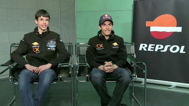 Marc Márquez y Alex Márquez, entrevista frente a frente