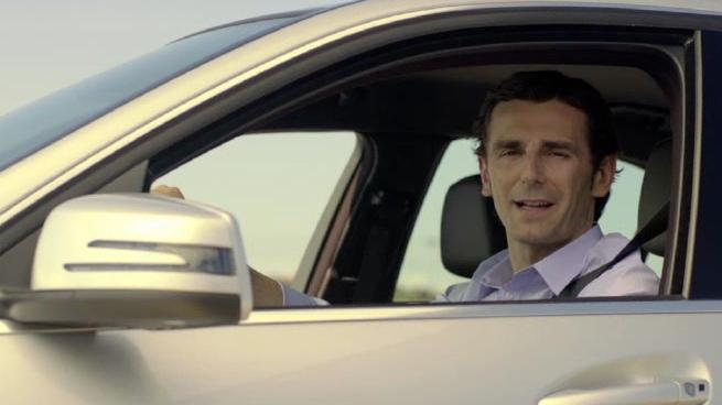 Pedro de la Rosa, la nueva imagen del Mercedes Clase C