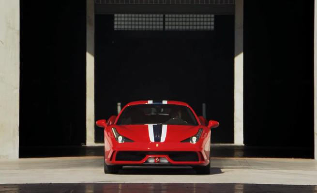 Video oficial Ferrari 458 Speciale