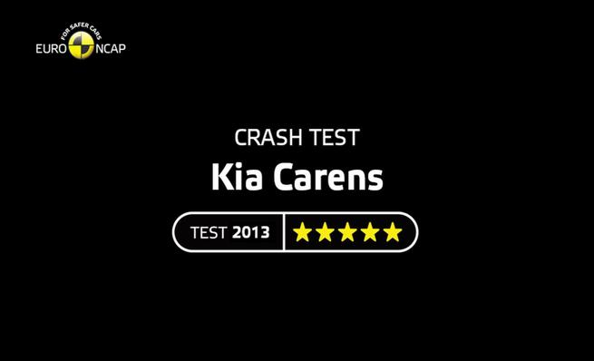 Crash Test del Kia Carens 2013
