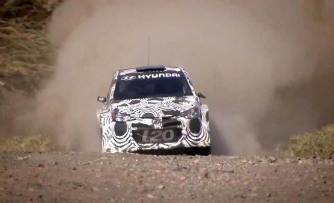 Test del Hyundai i20 WRC en España