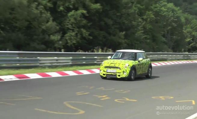 El nuevo Mini F56 cazado en Nürburgring