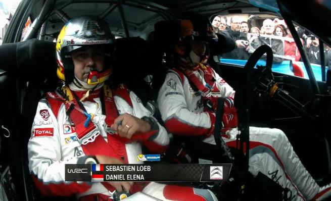 On board Sebastien Loeb - SS3 Rally de Francia