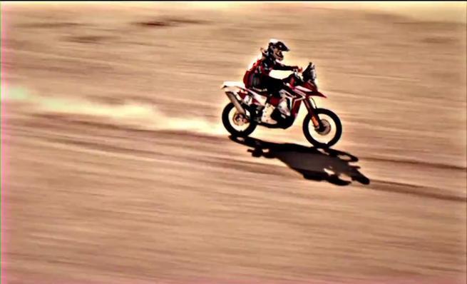 Conoce la nueva Honda CRF450 Rally para el Dakar 2014