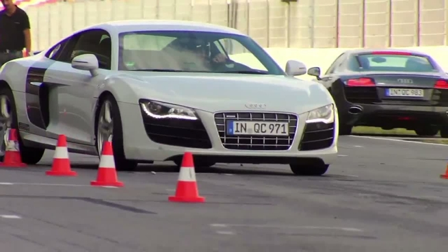 Audi driving experience Sportscar R8 en Montmeló