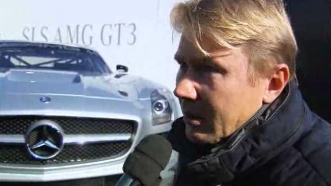 Mika Häkkinen vuelve a la competición