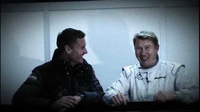 Mika Häkkinen y David Coulthard hablan sobre el regreso del finlandés