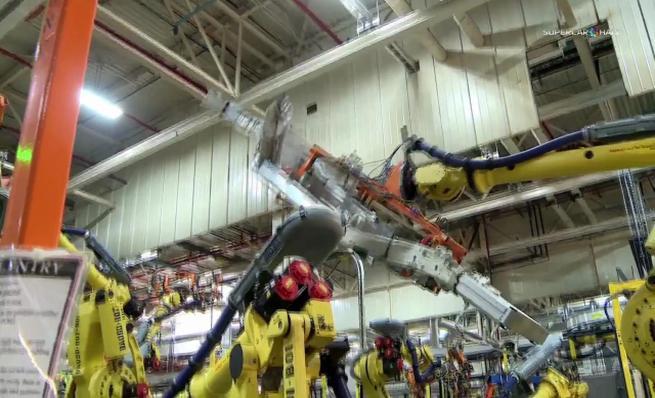 Proceso de fabricación del nuevo Corvette Stingray