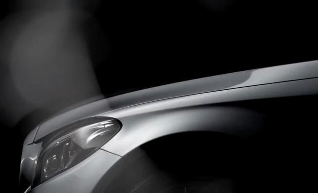 Teaser del nuevo Mercedes-benz Clase C