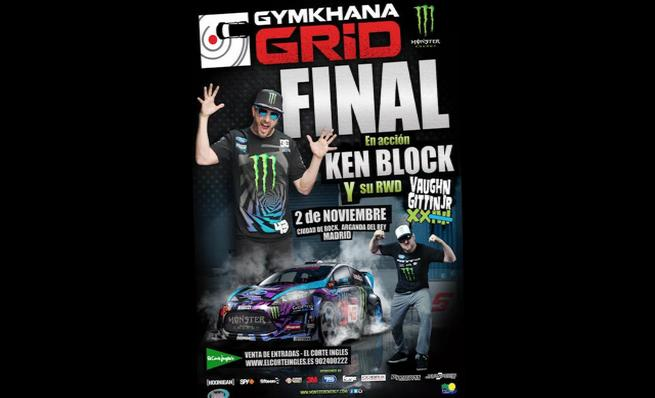 Ken Block nos invita a la final de la Gymkhana Grid